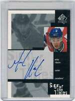 1999-00 SP Authentic Sign of the Times #MRI Mike Ribeiro NM-MT Auto Canadiens
