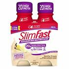 SlimFast Advanced Nutrition Vanilla Cream Shake – Ready To Drink Meal 4 Count