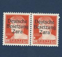 ZARA BESETZUNG GERMANY OCCUPATION ITALY 1.75L MNH OG