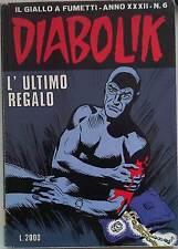 fumetto DIABOLIK ANNO XXXII numero 6