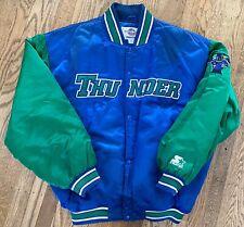 Rare VTG Trenton Thunder Starter Satin Jacket XL Authentic Minor League Yankees