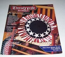 THREADNEEDLE STREET HISTORIC CRAFTS TRIAL ISSUE MAGAZINE 1994 35 PAGES