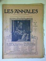 Les Annales N°1515 - 7 juillet 1912 - Partition musique