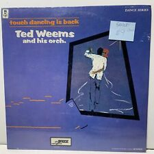 Ted Weems Touch Dancing Is Back Jazz International 1106 Sealed