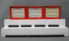 Rivarossi N Scale Santa Fe Passenger Car Set; 0522, 0524, 0526 [9] EX/Box