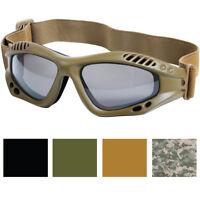 Ventec Anti-Fog Shatterproof Tactical Goggles Enhanced UV 400 Anti-Scratch