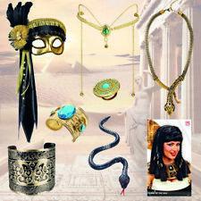 Kleopatra Accessoires Schmuck Zubehör Ägypterin Kostüm Verkleidung Göttin Antik