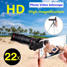 Universal 22x Zoom Telephoto Camera Lens For Tablets iPad Pro iPhone Samsng S20+