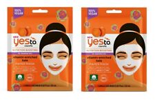 Yes To Carrots Nutrition Boosting Vitamin Enriched Kale Paper Mask (2 Pack)