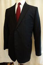 New Brooks Brothers Golden Fleece Black Wool Blazer 45R USA