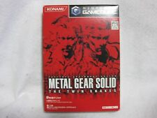 Metal Gear Solid The Twin Snakes Game Cube Nintendo Japan Official