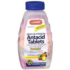 INM Leader Antacid Chewable Fruit 150 Tablets