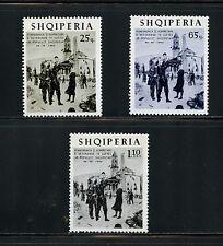 "Albania 1965  #853-5  ""Homecoming"" art paintings   3v.  MNH  I741"