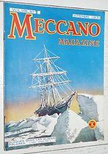 MECCANO MAGAZINE 1931 N°9 Cuirassé DEUTSCHLAND SHAKELTON TELE GRUE CDF TRAINS