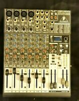 BEHRINGER XENYX 1204 FX PROFESSIONAL AUDIO MIXER PRO CHANNELS MIXING DESK