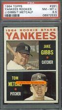1964 Topps 281 (R) Rookies Yankees PSA 8.5 (2533)