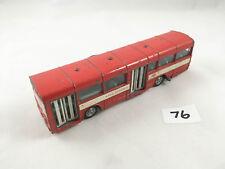 NICE DINKY TOYS # 283 AEC RED ARROW SINGLE DECK BUS COACH DIECAST RED 1974
