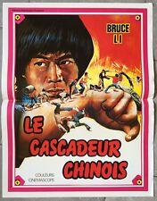 Affiche LE CASCADEUR CHINOIS Arts Martiaux BRUCE LI Karaté 40x60cm