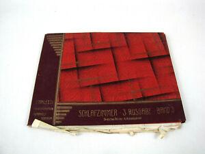 D. Maile & Co Innenarchitektur 30er Jahre Schlafzimmer Katalog 3. Ausgabe