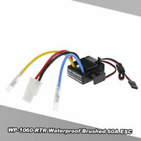 WP-1060-RTR Waterproof Brushed 2S-3S 60A ESC for 1/10 Tamiya HSP HPI RC Car A8X4