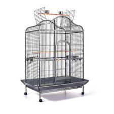 Large Bird Parrot Cage Aviary Canary Pet Stand with Wheels