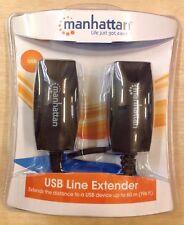 Manhattan USB line Extender, jusqu'à 60 m, entièrement NEUF sous emballage, périphérique USB, (S)