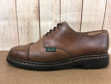 PARABOOT GRIFF Made In France Brown Cap Toe Oxford Lace Up Size 10 Shoes H12(5)