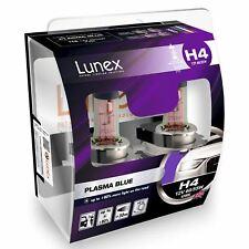 H4 Lunex Plasma Blue 60/55W 12V Lampadine Fari Alogeni 4200K Set