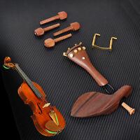 1 Set Violine Geige Pegs Saitenhalter Kinnhalter Endstift für 4//4