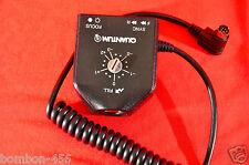 QUANTUM D13n QTTL FOR SOME CANON CAMERAS & THE QFLASH - USED, TESTED!   D-13n