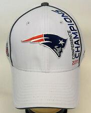 NFL New England Patriots Reebok 2011 Conference Champions Super Bowl XLVI  Hat 79b62cad6