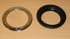 """4"""" rubber Grommet 4"""" Stainless Bezel fits Truck-lite Grote Peterson or others"""