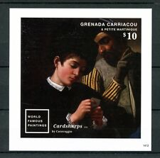 Grenada Grenadines 2014 MNH World Famous Paintings 1v Imp SS I Caravaggio Stamps