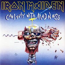 "Iron Maiden - Can I Play with Madness - New 7"" single"
