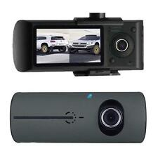 Dual Car Vehicle GPS Logger Dash Crash Camera Video Recorder Cam DVR G-Sensor PE