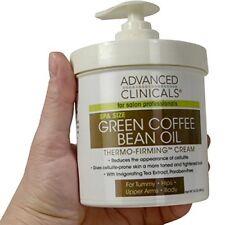 Green Coffee Bean Oil Thermo-firming Body Cream 16oz Professional