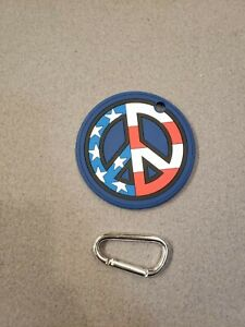 New Scotty Cameron USA Peace Stars & Stripes US GALLERY Putting Disc Bag Tag