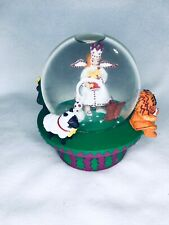 Christmas Angel Musical Snow Globe Neiman Marcus 1995 Dept 56