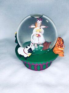 Christmas Angel Musical Snow Globe Neiman Marcus 1995 Dept 56