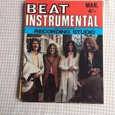 Beat Instrumental No 83 March 1970 Led Zeppelin Beatles Syd Barrett Nice Crimson