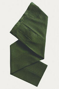 """EXHIRE MENS WEDDING FORMAL MORNING GREEN STRIPE ASCOT TROUSERS 30""""-42""""  WAIST"""