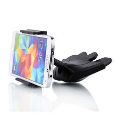 Universal CD Player Slot Smart Phone Car Auto Mount Holder Cradle Black