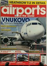 Airports of the World Sep Oct 2014 Vnukovo Moscow's Rising Star FREE SHIPPING sb