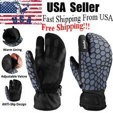 -30℃ Ski Snowboarding Warm Gloves Winter Thermal Touch Screen Waterproof Mittens