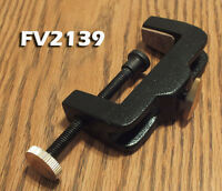 "C Clamp Base for Fly Tying Vise, Fits on 3/8"" Shaft -  FV2139- Heavy Duty"