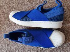 Adidas Resbalón En Bombas/Zapatillas Talla 4. nuevo SIN ETIQUETAS/CAJA