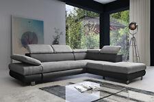 Ecksofa mit Schlaffunktion Schlafsofa Eckcouch Couch Obsession Relax Bequem 01