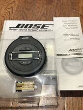 MINT In Box Bose PM-1 Portable CD Compact Disc Player With User Manual & Box.