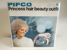 VINTAGE PIFCO PRINCESS HAIR BEAUTY OUTFIT HAIR DRYER MID CENTURY 1970s BOXED