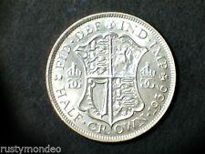 (1) 1936 George V .500 silver Half Crown, Ex Fine.